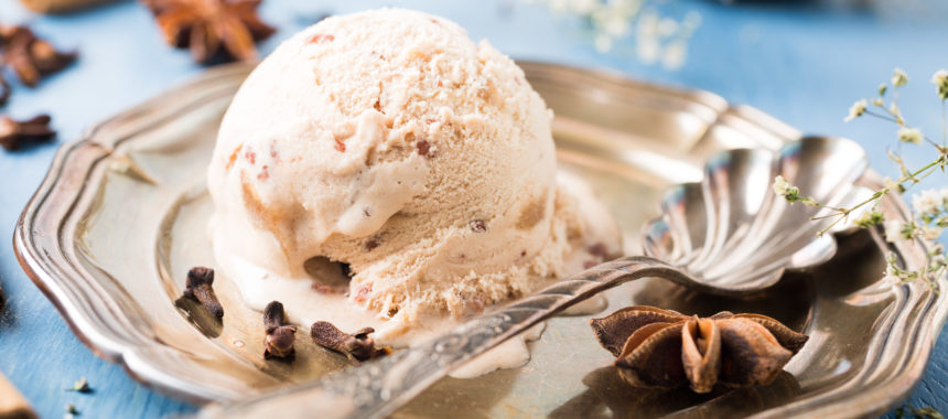 Vegan Chai Spice Ice Cream
