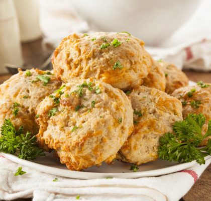vegan cheddar bay biscuits