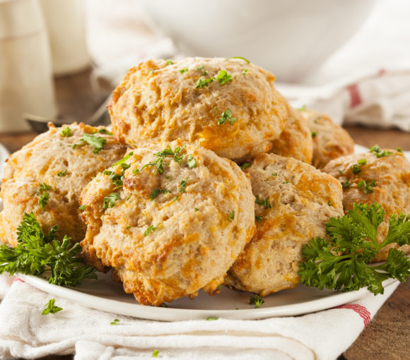 vegan cheddar bay biscuits